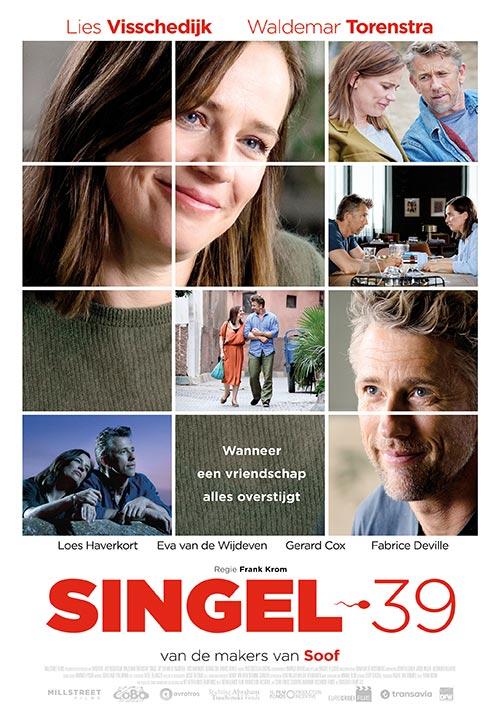 Poster film Singel 39 - wanneer een vriendschap alles overstijgt